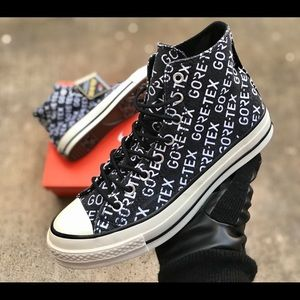Converse Chuck 70 Hi Black Gore-Tex Waterproof